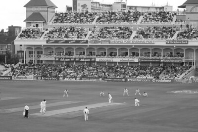 There's something about a test match that lends itself to B&W, I always feel. Perhaps because because it's such a timeless game.