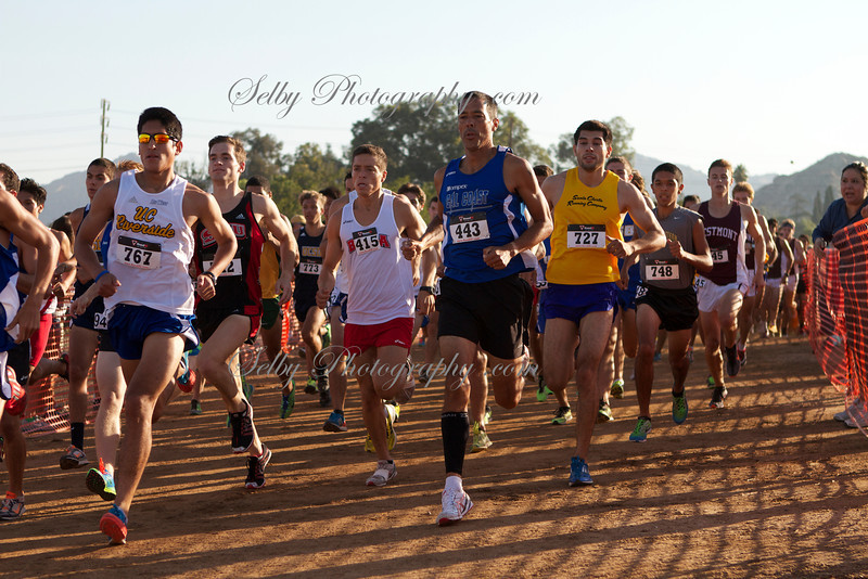 UC Riverside Invitational cross country 2013