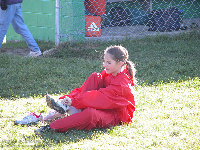 Pre-race warm-up  -  Girl's Modified