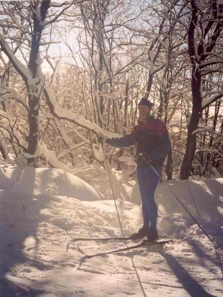 Hautes Fagne near Baraque Michel Eupen (Ardennes winter 1998 - 1999)