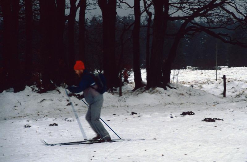 Hautes Fagne near Baraque Michel Eupen (Ardennes winter 1996 - 1997)