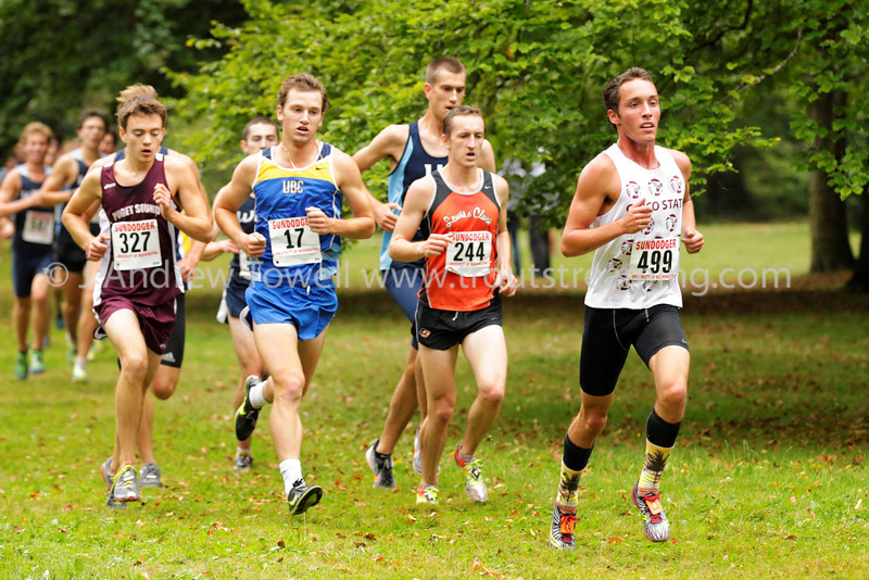 130914 Cross Country Seattle Pacific University Falcons at Sundodger in Lincoln Park