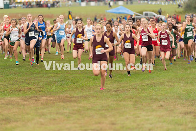 249 Kelsey Godman (Broad Run), 242 Stephanie Barry (Broad Run), 252 Megan Mazzatenta (Broad Run)