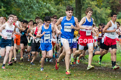 2905 Brian Cash (West Potomac), 644 Sean Rastatter (Gar-Field), 2901 Owen Albrecht (West Potomac), 1992 Burke Romans-Murray (Patriot)