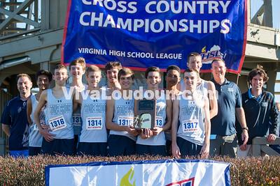 Stone Bridge Boys Cross Country Team