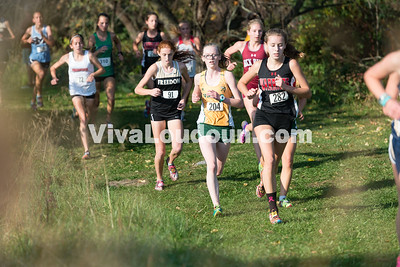 204 Loudoun Valley (20:40.0), 91 Freedom (21:32.3)