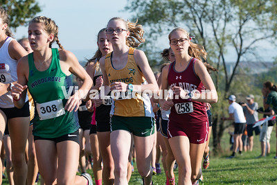 308 Woodgrove (22:27.4), 204 Loudoun Valley (20:40.0), 258 Rock Ridge (21:10.5)
