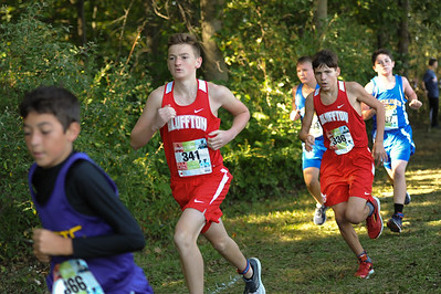 9-29-18 Bluffton JH Cross Country at Kalida-62