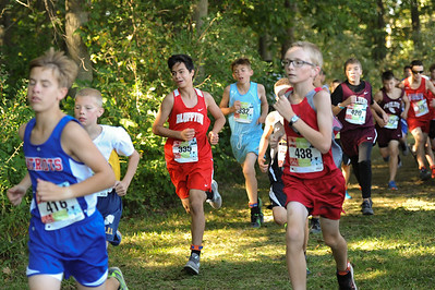 9-29-18 Bluffton JH Cross Country at Kalida-67