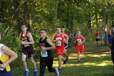 9-29-18 Bluffton JH Cross Country at Kalida-74
