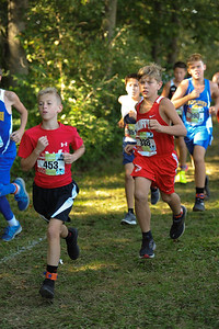 9-29-18 Bluffton JH Cross Country at Kalida-80