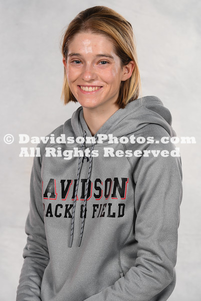 NCAA TRACK & FIELD:  SEP 17 Davidson Track & Field Photo Day