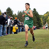 Northridge Raiders Jaxon Miller (747) finishes fourth during Saturday's Varsity Boys NLC Championship at Ox Bow Park in Goshen.