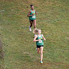 Northridge Raiders Haylee Hile (582) and her teammate Tame Bayliss (583) lead the pack during Saturday's Varsity Girls NLC Championship at Ox Bow Park in Goshen.