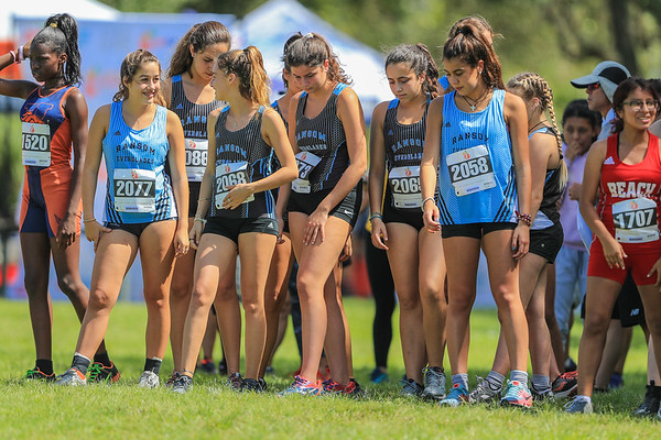 Ransom Everglades Girls and Boys Cross Country, 2018