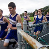 Monty Tech and Sizer School runners compete in a cross country meet on Tuesday afternoon. SENTINEL & ENTERPRISE / Ashley Green