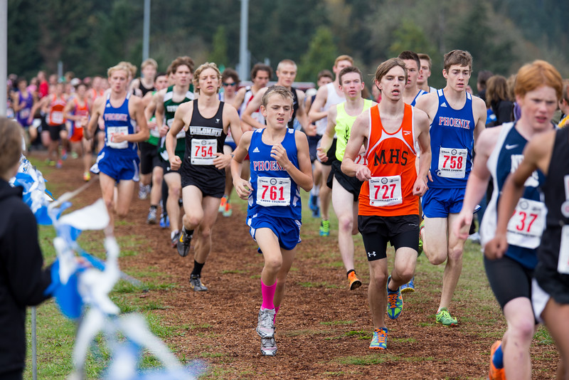 """See more photos: <a href=""""http://photos.kevinjantzer.com/Cross-Country/OSAA-XC-Championships-2014/"""">http://photos.kevinjantzer.com/Cross-Country/OSAA-XC-Championships-2014/</a>"""