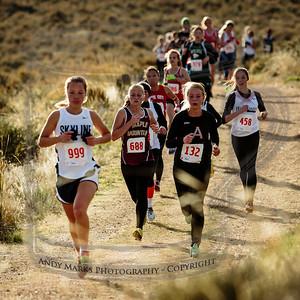 Alta Women's Varsity runners, 1st