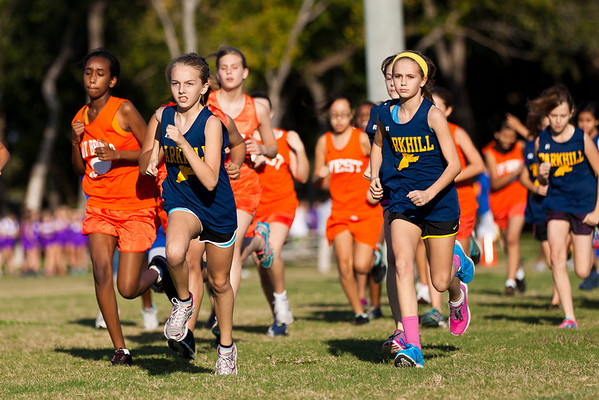 Parkhill Cross Country Meet #1 2012