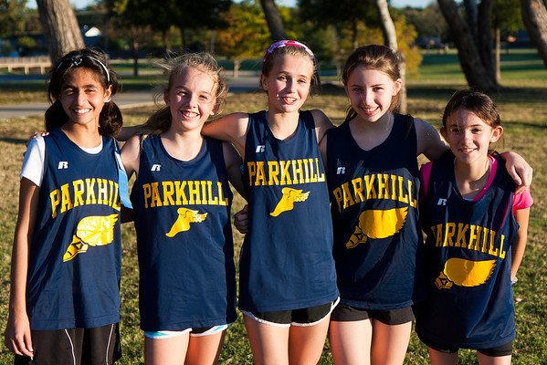 Parkhill Cross Country Meet #3 2012
