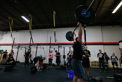 Crossfit Sabertooth SaberSpook Event 1
