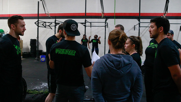 Crossfit Sabertooth SaberSpook Event 2
