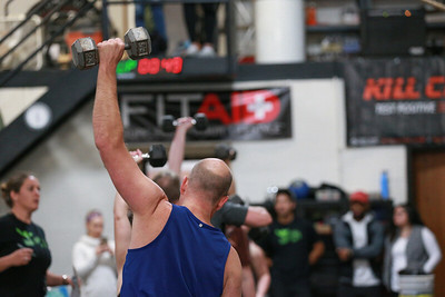 Crossfit Sabertooth SaberSpook Event 3