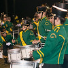 Record-Eagle/Douglas Tesner<br /> <br /> Traverse City West Marching Band preformed during half time.