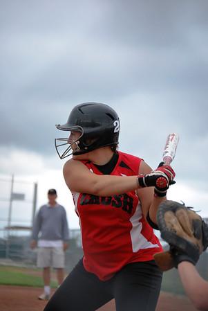 Crush Softball game