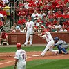 Cardinals Albert Pujols at bat.