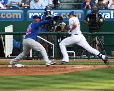 Cubs at Royals, June 2011