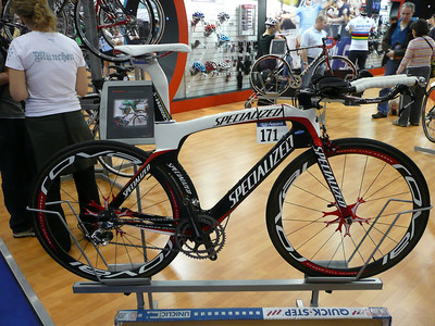 Specialized - Tom Boonen's TT S-Works Transition.