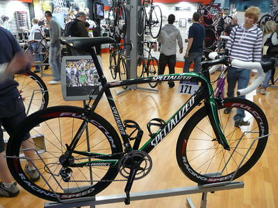 Specialized - Tom Boonen's road bike.