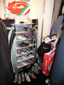 Half of the Sidi range there.
