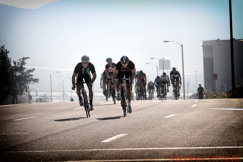 Chad winning the Rosena Ranch Circuit race in Fontana, California