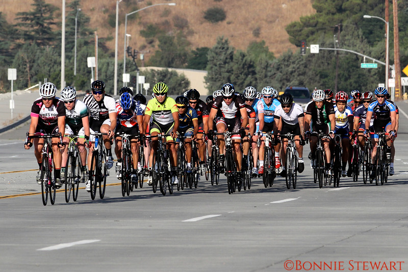 Chris Stewart in the Rosena Ranch Circuit race in Fontana, California