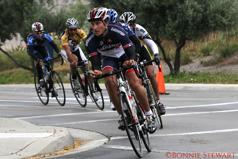 Chris Stewart, lead in the San Marcos Circuit race