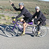Couple riding a Da Vinci tandem.  They paced me up the first climb.  I took their picture to return the favor of the pull.  They just got the tandem within the last 6 months.