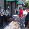 French accordion player Ft. Collins BTC