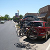 Mexican lunch stop in downtown Fruita.