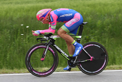 Winner of the Time Trial at Schierling and consequently also overall winner of the Bayern-Rundfahrt 2013: Adriano Malori, Team Lampre, Italy.