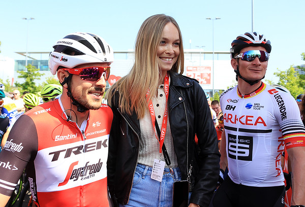 Dege, Miss Germany 2019 Nadine Berneis and Andre Greipel