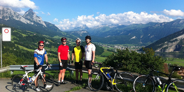 Cycling in Switzerland - Aegerisee June 2012