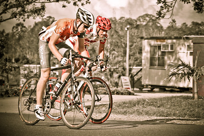 2005 Giro de Brisbane (Giro d'Brisbane) Cycling Criterium, Carina, Brisbane, Australia; linked to the Abruzzo Club. Photos by Des Thureson:  http://disci.smugmug.com. Matt's 300 Look - Strong.