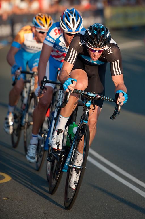 Mathew Hayman - Noosa Men's Cycling Grand Prix, 2010. Noosa Triathlon Multi Sport Festival, 30 October, Sunshine Coast, Queensland, Australia.