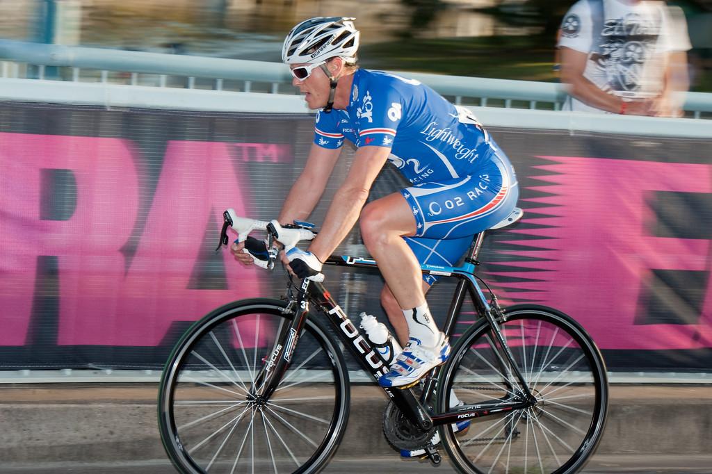 Wade Wallace - Noosa Men's Cycling Grand Prix, 2010. Noosa Triathlon Multi Sport Festival, 30 October, Sunshine Coast, Queensland, Australia.