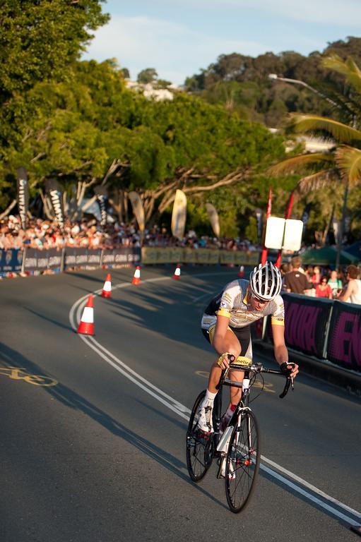 Noosa Men's Cycling Grand Prix, 2010. Noosa Triathlon Multi Sport Festival, 30 October, Sunshine Coast, Queensland, Australia.