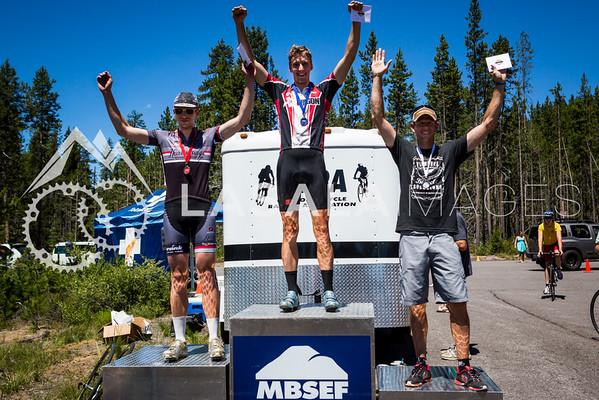 Men's Cat 4/5 Road Race Podium