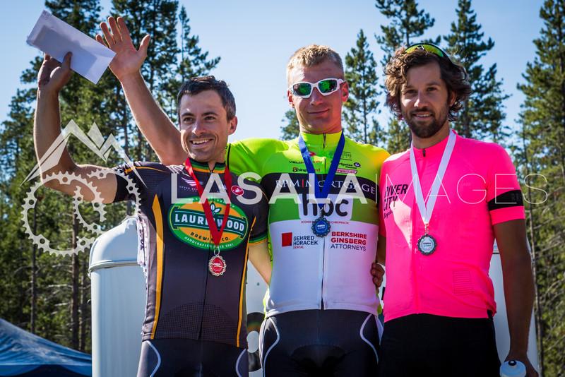 Men's Pro 1/2 Road Race Podium