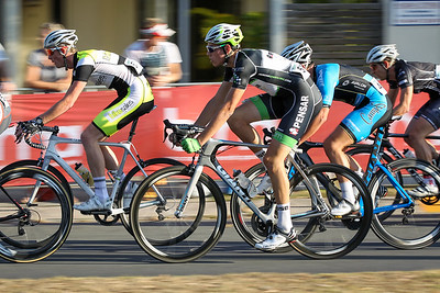 "Josh Smith - Panning the Camera with a Low Shutter Speed (""Speed Blur"") - Noosa Subaru Men's Australian Open Criterium (Cycling) - 2013 Super Saturday at the Noosa Triathlon Multi Sport Festival, Noosa Heads, Sunshine Coast, Queensland, Australia. Camera 2. Photos by Des Thureson - http://disci.smugmug.com"